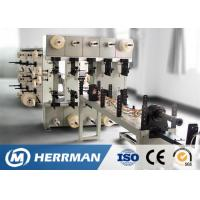 China Fiber Optic Drop / FTTH / Premises Cable Making Equipment Jacketing Machine 80rpm wholesale