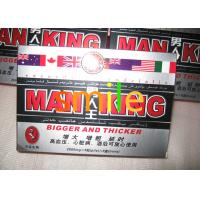 China Original Man King Herbal Sex Capsule Thicker Penis Harder And Longer Lasting Erection wholesale