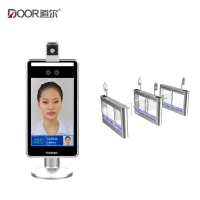 China Temperature Detection Turnstiles Face Recognition Terminal For Access Control System wholesale