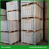 China Good Quality White Coated Duplex Card Paper Printing Board with White/Grey Back on sale