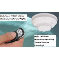 China Smoke Detector Hidden Camera with Nightvision and Thermal Sensing Record wholesale