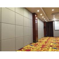 China Banquet Hall Operable Acoustic Room Dividers , Soundproof Movable Wall Partitions wholesale