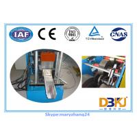 Buy cheap 50Hz 3 phase Colored Steel Seamless Gutter Machine ISO SGS CE from wholesalers