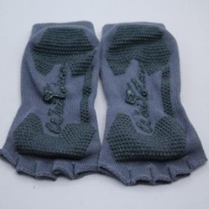 China half toe no-shows socks grip socks non-slip socks fitness yoga socks wholesale