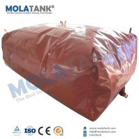 China Molatank home use portable PVC biogas system with good quality competitive price wholesale