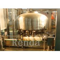 China Water Carbonated Drink Filling Machine Soda Manufacturing Machine 5000BPH Stainless Steel wholesale