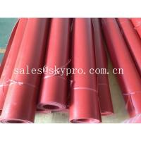 China Flooring / gasket red rubber sheet roll good elasticity and wear resistance wholesale