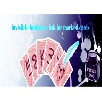 China Latest Luminous Playing Cards Invisible Ink For Poker Cheat / Magic Show wholesale