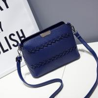 China New Design Shoulder Bag Women Messenger Bag Classical Style Quilted Pu Leather Shell Handbag wholesale
