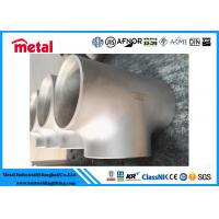 China UNS NO8020 Nickel Alloy Pipe Fittings Equal Tee Seamless Oxidation Resistance wholesale