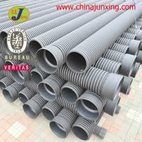 China hdpe double wall corrugated pipe wholesale