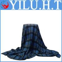 China wholesale photo printing check and grid printed polar fleece bedding set manufacturers wholesale