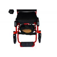 China Small Order is ok -- Quality aluminum lightweight electric wheelchair for disabled D09 wholesale