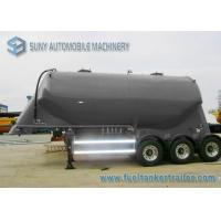 China 3 Axle Conoid Dry Bulk Tanker Trailer 32 Cubic Meter High Performance wholesale