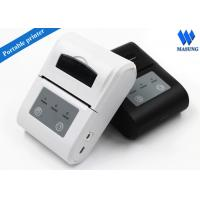 China White Irda Portable Thermal Printer Bluetooth Android For Clinical Analyzer wholesale