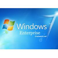 China Computer System Windows 7 Enterprise Download Full Version 1 Pack Work Well wholesale
