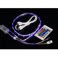 China USB 3.7V Rechargeable Waterproof Led Strip Lights With Remote Control wholesale
