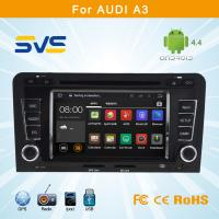China Android 4.4 car dvd player for Audi A3 car radio dvd gps navigation system wholesale