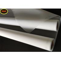 China Nylon Monofilament White Color Screen Printing Materials Silk Screen Printing Mesh on sale