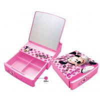China JEWELRY MIRROR BOX WITH DIVIDER (OEM PRINTING IS WELCOME) wholesale