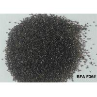 Quality Brown Aluminum Oxide Blasting Media Non Ferrous Contamination BFA F12# - F220# For Sandblasting for sale