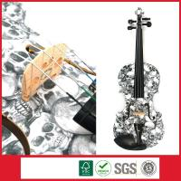 China Student Violin With Skull Design,Your Personalized Musical Instrument on sale