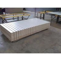 China Moisture Resistant Slotted MDF / Magic Slatwall board for Display Furniture wholesale