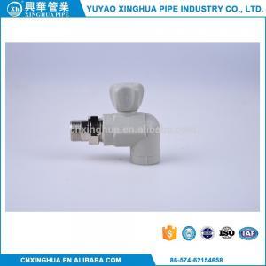 China Home Kitchen PPR Ball Valve , Brass Ballcock Valve Long Service Life wholesale