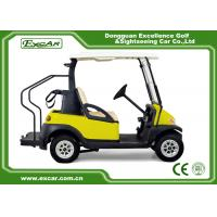 Buy cheap Multi Passenger 2 Seater Golf Buggy , Motorised Golf Carts 25km / H Speed from wholesalers