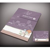 China holidays card printing, Christmas card printing, card printing with glossy laminated, red card printing on sale