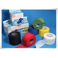 China Cotton Athletic Trainers Tape / Medical Adhesive Sport Injury Rigid Ankle Strapping Tape on sale