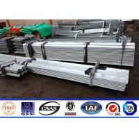 China Hot Dip Galvanized 8ft-19.6ft Steel Angle Channel For Electric Power Tower Philippines NPC Construction wholesale