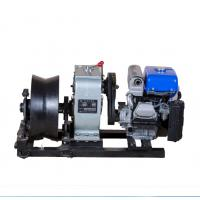 China 5 Ton Threading Machine Cable Winch Puller For Power Construction wholesale