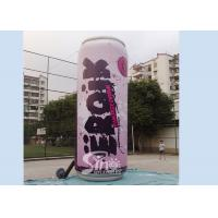China 6m High Giant Energy Drink Inflatable Can With Full Printing For Outdoor Advertising wholesale