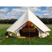 Buy cheap 6-10 Persons Yurt Tent Cotton Canvas Bell Tent With Canva Fabric from wholesalers
