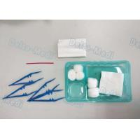 China Delta Disposable Surgical Kits , Surgical Wound Dressing Pack With Yellow Bag Cotton Ball wholesale