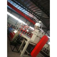 China Green Color Floor Mat Making Machine Heat Insulation 46*5*4m Dimension wholesale