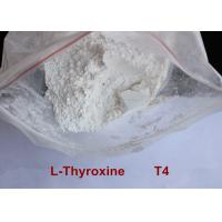 China High Purity Safe Weight Loss Drug Levothyroxine T4 Powder CAS 51-48-9 wholesale