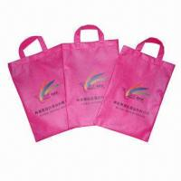 Buy cheap Nonwoven shopping bag, made of 80g nonwoven from wholesalers