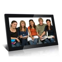 China Big 21.5 Inch FHD High Resolution Digital Picture Frame With Video Loop Play wholesale