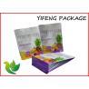 China High quantity Waterproof Food Grade Zip Lock Bags Custom Design For Snack Packaging wholesale