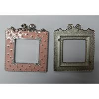China Premium quality zinc alloy picture frame, ready mold, exquisite metal baby photo frames, wholesale