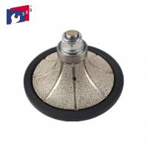 China Demi Bullnose Diamond Router Bits , Roundover Router Bit Diamond Hand Profiler wholesale