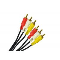 China Round Special Cables RCA Video Cable 2 RCA 3 RCA Cable 2R / 3R For CCTV Cameras wholesale