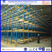 China radio shuttle rack warehouse storage steel rack with high qualtiy pallet runner wholesale