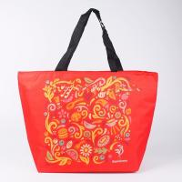 China Recycled Insulated Cooler Bags Portable Custom Printed Tote , Drink Cooler Bag wholesale