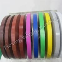 China China hot selling different color different size pvc edge banding on sale