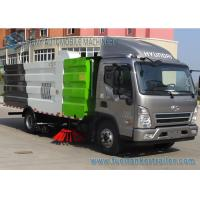 China HYUNDAI 8000L 4x2 Road Sweeper Truck brush suction road sweeper truck for Philippines wholesale