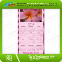 China OEM Anniversary Card / Calendar Card on sale