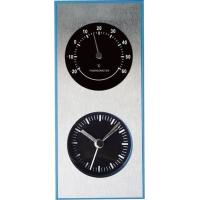 China modern alarm clock with indoor/ outdoor weather station wholesale